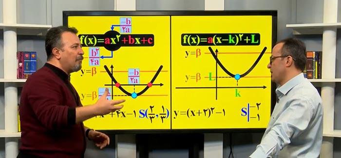 نحوه تدریس ریاضی استاد منتظری