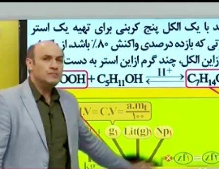 شیمی مسائل جامع نظام جدید حرف اخر