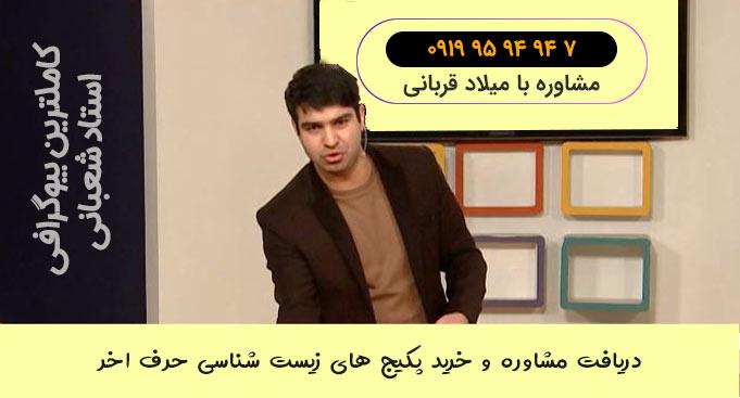 بیوگرافی رضا شعبانی